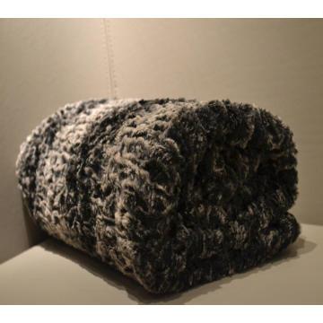 Supre warm luxury reversible velvet throw blanket