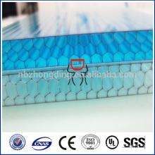 8мм 4 -сота стены покрашенный лист полости PC поликарбоната