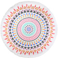Stock Turkish Antimicrobial Microfiber Round Beach Towel