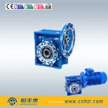 Untersetzungsgetriebemotor mit Schneckengetriebe und Rad