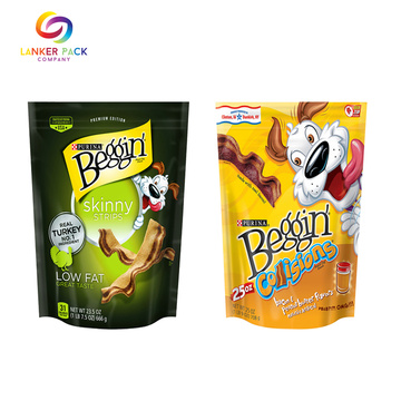 Beg Resealable Stand Up With Zipper Untuk Nuts