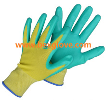 Pretty Garden Glove, Nitrile Work Glove