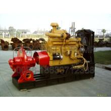 Pompe centrifuge de feu d'enveloppe de double fente d'aspiration
