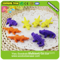 Crocodilo em forma de animal define 3d puzzle borracha