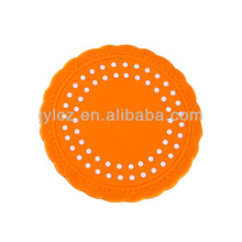 silicone rubber placemats and coasters rubber