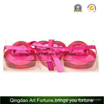 3pk Heart Shape Tealight Candle Holder Gift Set