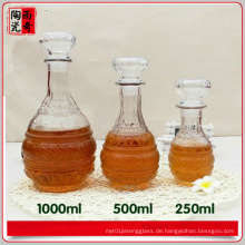 Weinflasche # & Brandy Bottle & Liquor Flasche