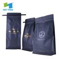 Personalice la bolsa de filtro de café de impresión con papel de aluminio