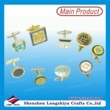Benutzerdefinierte Arten von Form Metall Business Manschettenknopf