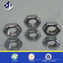 Fournisseur en provenance de China good force steel HDG hexagonal nut