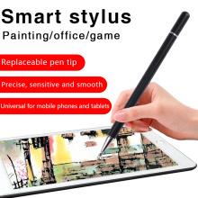 caneta de toque stylus disco de ponta fina