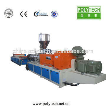 Plastic roofing sheet extruding machine for make PE PP recycled roof