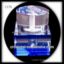 Schöne Kristallparfümflasche C179