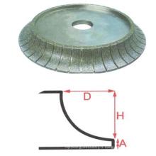 Top qualité vente chaude 9 abrasif de meulage diamant roue vente promotion 7 roues de bord en céramique