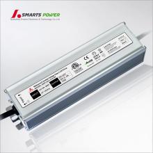 O UL 80W do CE Waterproof o transformador da CC da CA 12v / 24v do diodo emissor de luz 110vac 220v