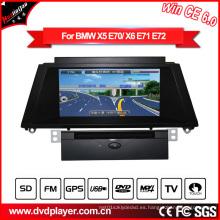 Hla 8825 para BMW X5 BMW X6 Car GPS GPS DVD Navegación Win Ce 6.0
