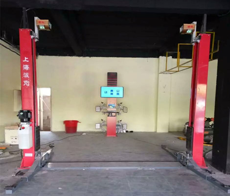 Smart Test Wheel Alignment System