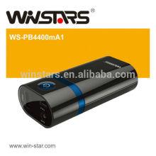 4400mAh передвижной резервной батареи, зарядное устройство для зарядного устройства, со светодиодной функцией факела