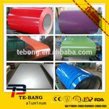 PE aluminio pintado aluminio bobina empresas en china