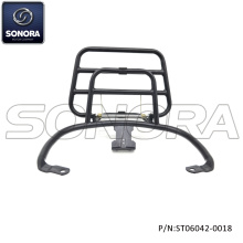 VESPA Primavera Rear carrier-Gloss black (P / N: ST06042-0018) Calidad superior