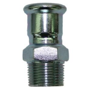 Carbon Steel Adapter with Male Threaded End