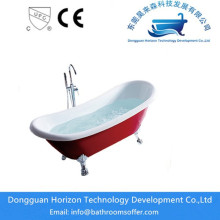 China OEM for Acrylic Clawfoot Bathtub Hydraulic Standing tub bath with shower supply to Russian Federation Exporter