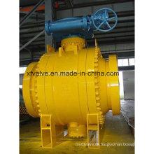 ANSI Standard geschmiedetes Stahl Big Size Kugelhahn