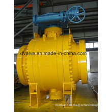 ANSI Estándar de acero forjado de gran tamaño de la válvula de bola