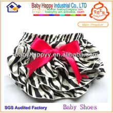 Chevron print baby bloomer for girl in stock