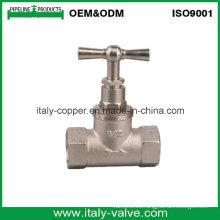 Válvula forjada de la placa del níquel de la calidad del OEM y del ODM con la manija en T
