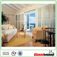 89mm PVC-Verschluss Rolling Wooden Shutter (SGD-PS-4999)