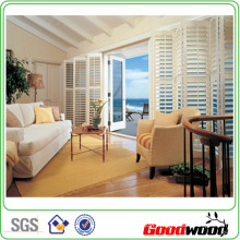 89mm PVC Shutter Rolling Wooden Shutter (SGD-PS-4999)