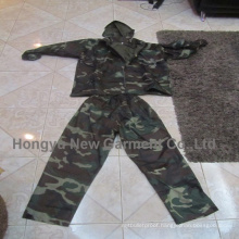 Two-Piece 100% Waterproof Polyester Rain Coat (HY-RC001)