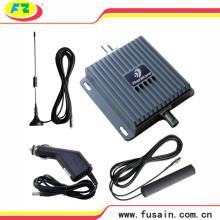 Car Truck 12V 24V Dual Band 55dB 3G Cdmpa PCS 850MHz-1900MHz Repetidor de señal de teléfono móvil GSM para vehículo con antena