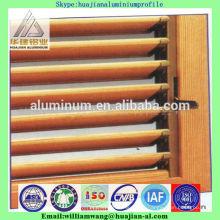 Ventanas de persiana de aluminio de precio más bajo