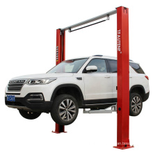 TFAUTENF brand clear floor type hydraulic two column lift 4 tons