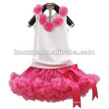 Baby Tank sets Baby Outfit 2 pièces avec fleur