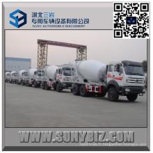 Camion de mélangeur concret du benz du nord 10 10 Wheeler 8
