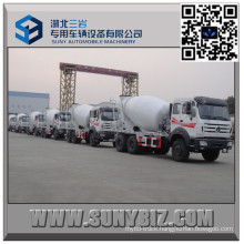 North Benz 10 Wheeler 8 Cbm Concrete Mixer Truck