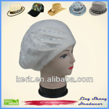 Chapeau Angora et laine / Belle Beret Beret angora béret chapeau chapeaux de laine béret beret angora beret angora lapin prix, LSA47