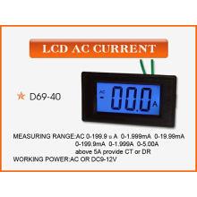 Voltímetro digital LCD Voltímetro Medidor
