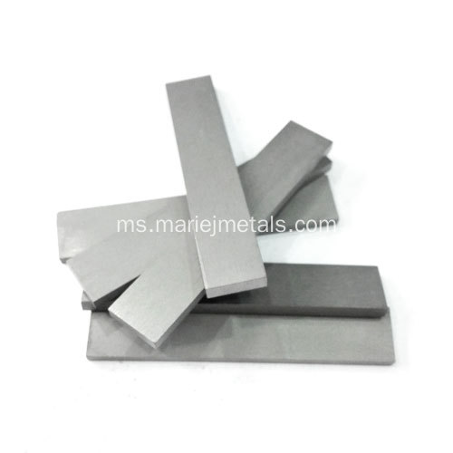 Jaluran digilap Tungsten karbida