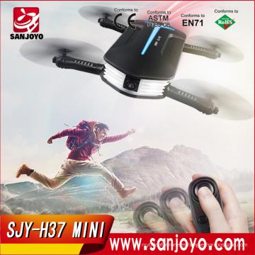 Venta al por mayor Mini bolsillo JJRC H37 Mini Baby elfie Plegable RC Drone con Quadcopter sin cabeza
