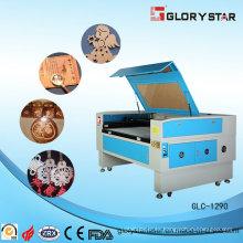 Máquina de corte y grabado de láser de CO2 de caucho / lana