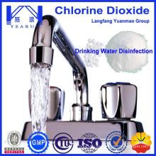 2015 venta caliente efervescente tabletas de dióxido de cloro para el tratamiento de agua potable de China proveedor