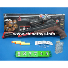 New Plastic Toys Gun with Water Bullet, Soft Bullet (887745)