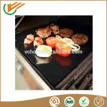 Custiom size Non stick bbq grill mat Reusable Heavy Duty Teflon Oven Protector