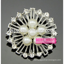 new arrival vintage flower style diamante brooches