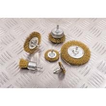 Alimentación accesorios herramientas piezas cepillo de alambre acopado herramientas de limpieza