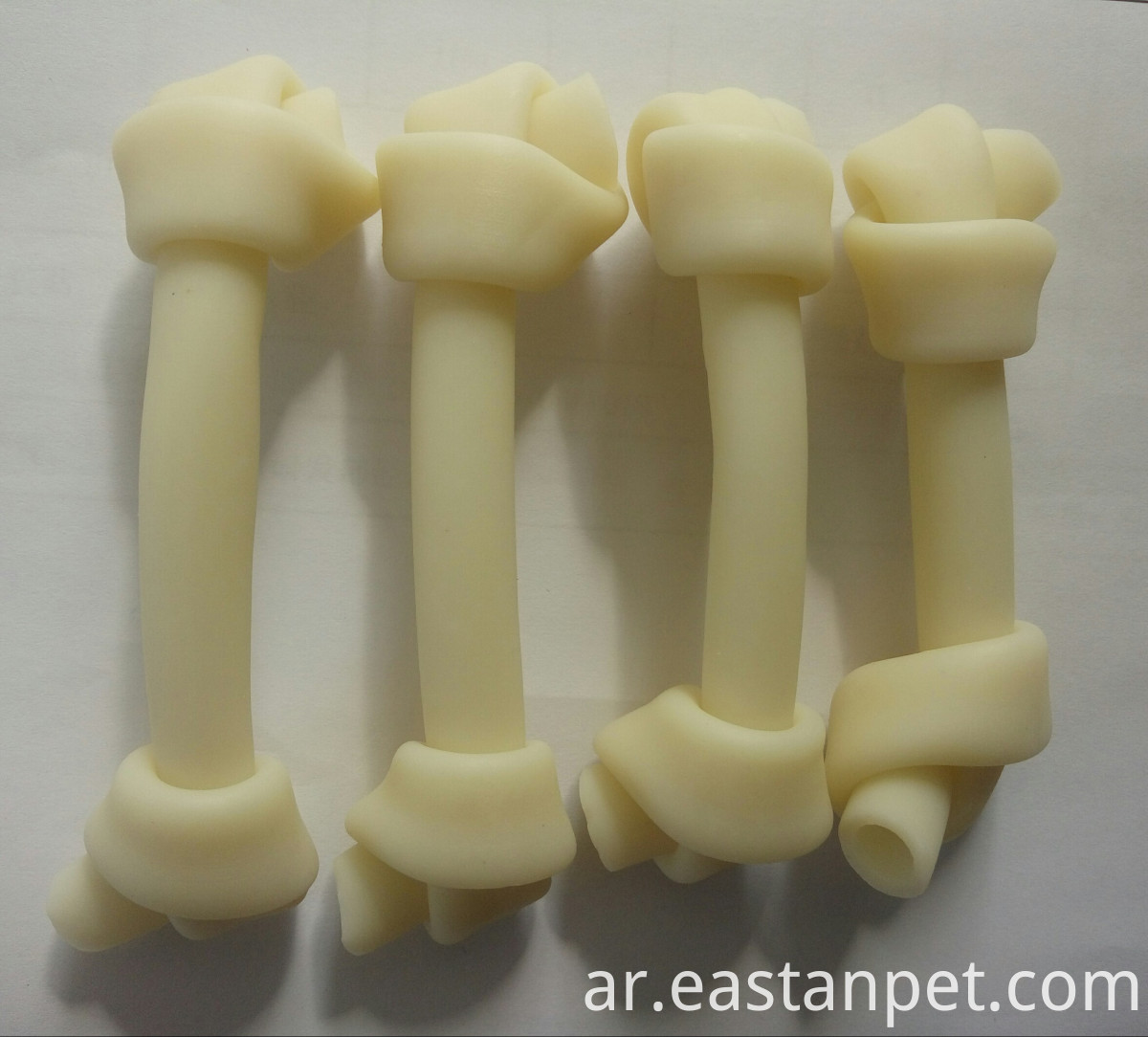 cheese flavor knotted bone for dogs